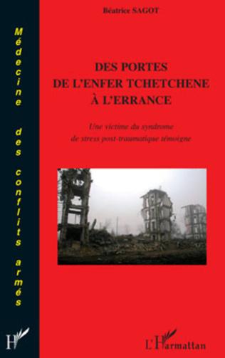 Couverture Des portes de l'enfer tchétchène à l'errance