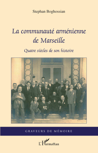 Couverture La communauté arménienne de Marseille
