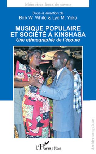 Couverture Musique populaire et société à Kinshasa