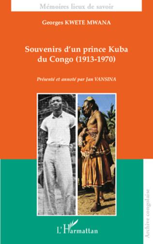 Couverture Souvenirs d'un prince Kuba du Congo