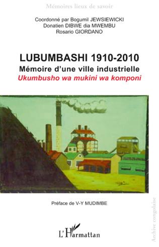 Couverture Lubumbashi 1910-2010