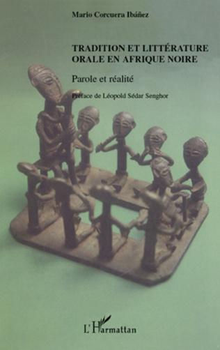 Couverture Tradition et littérature orale en Afrique noire
