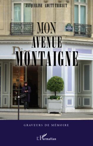 Couverture Mon avenue Montaigne