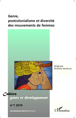 Couverture Genre, postcolonialisme et diversité des mouvements de femme