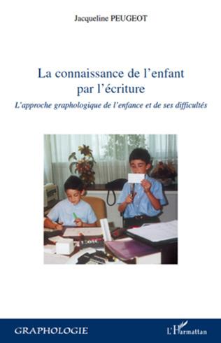 Couverture La connaissance de l'enfant par l'écriture