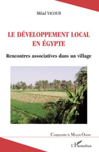 Couverture Le développement local en Egypte