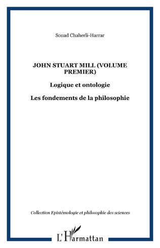 Couverture John Stuart Mill (volume premier)