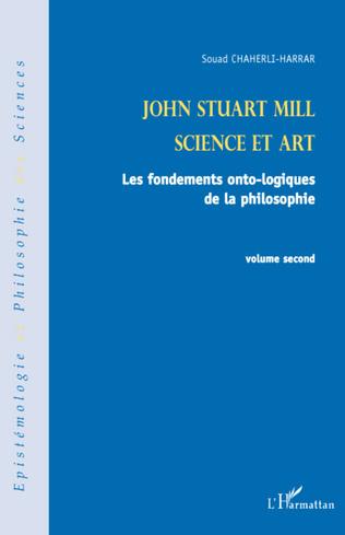 Couverture John Stuart Mill (volume second)