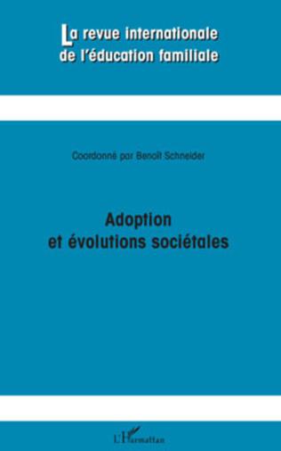 Couverture Adoption et évolutions sociétales