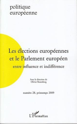 Couverture Les élections européennes et le Parlement européen
