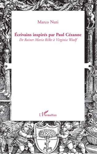 Couverture Ecrivains inspirés par Paul Cézanne