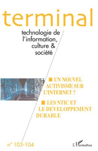 Couverture Technologie de l'information, culture et société