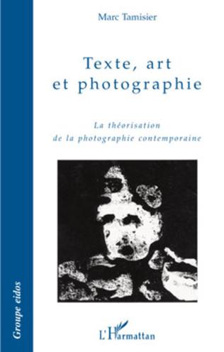 Couverture Texte, art et photographie