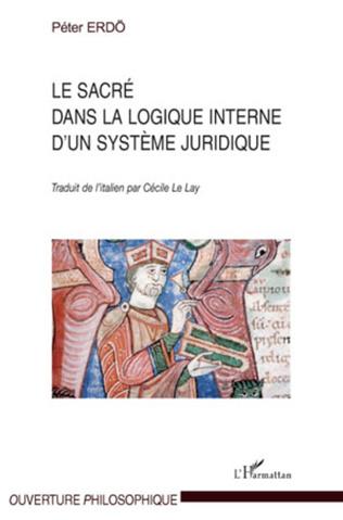 Couverture Le sacré dans la logique interne d'un système juridique