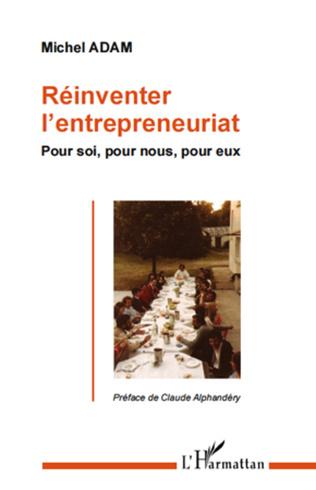 Couverture Réinventer l'entrepreneuriat