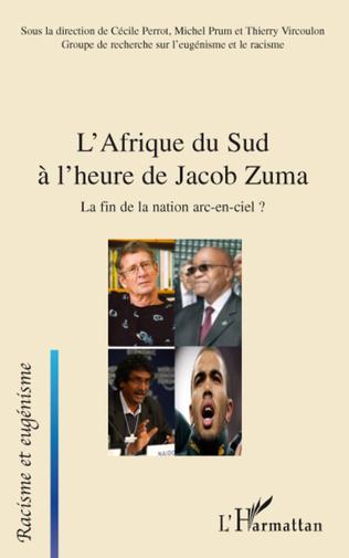Couverture L'Afrique du Sud à l'heure de Jacob Zuma