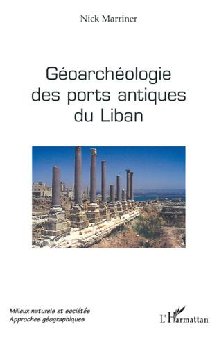 Couverture Géoarchéologie des ports antiques du Liban