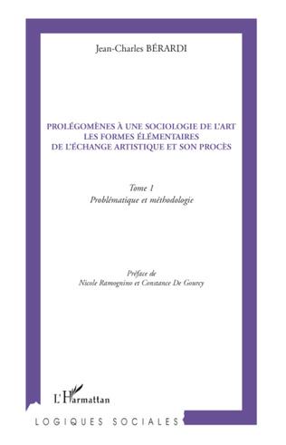 Couverture Prolégomènes à une sociologie de l'art