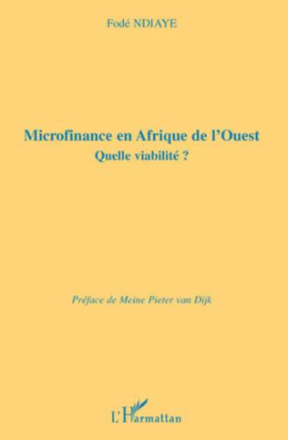 Couverture Microfinance en Afrique de l'Ouest