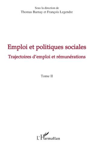 Couverture Emploi et politiques sociales (Tome II)