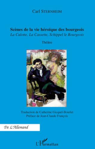 Couverture Scènes de la vie héroïque des bourgeois