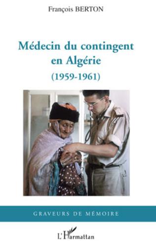Couverture Médecin du contingent en Algérie