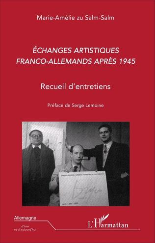 Couverture Echanges artistiques franco-allemands après 1945