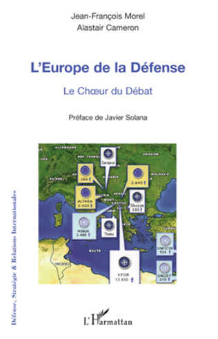 Couverture L'Europe de la défense