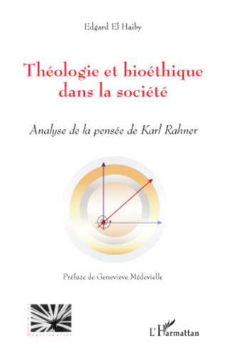 Couverture Théologie et bioéthique dans la société