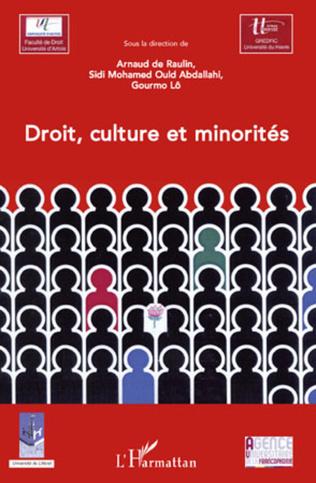 Couverture Droit, culture et minorités
