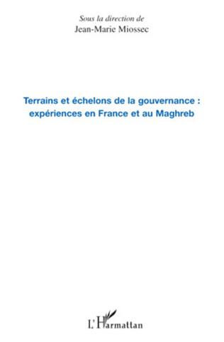 Couverture Terrains et échelons de la gouvernance : expériences en France et au Maghreb