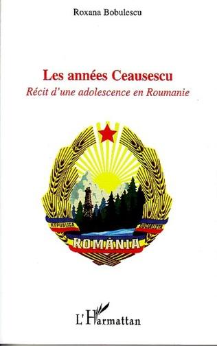 Couverture Les années Ceausescu