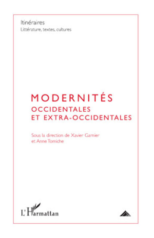 Couverture Modernités occidentales et extra-occidentales
