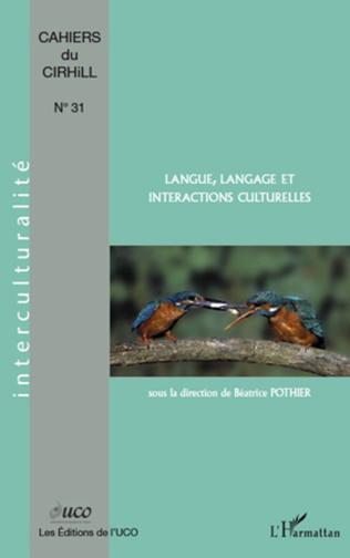 Couverture Langue, langage et interactions culturelles