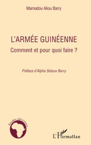 Couverture L'armée guinéenne