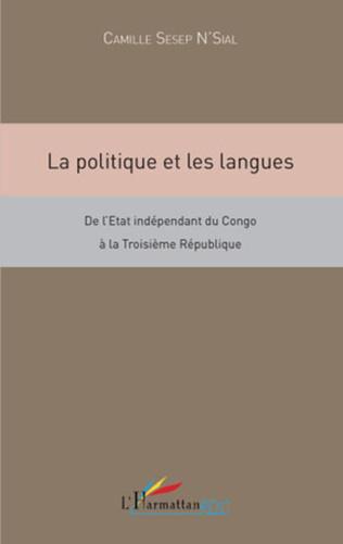 Couverture La politique et les langues
