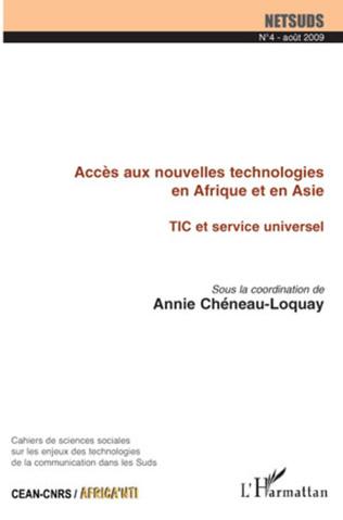 Couverture Répartition spatiale des points d'accès et usages d'Internet dans une ville du Sud Ziguinchor en Casamance-Sénégal