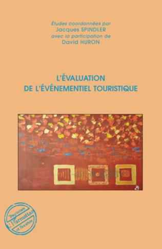 Couverture L'évaluation de l'événementiel touristique