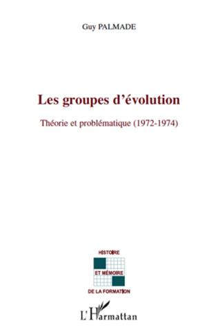 Couverture Les groupes d'évolution