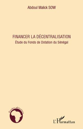 Couverture Financer la décentralisation