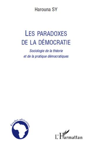 Couverture Les paradoxes de la démocratie