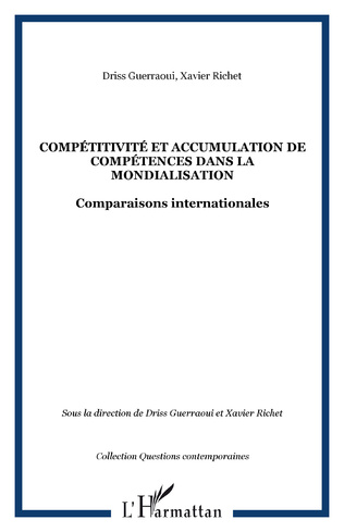 Couverture Compétitivité et accumulation de compétences dans la mondialisation