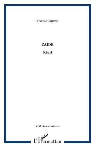 Couverture Zaïde