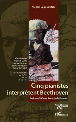 Couverture Cinq pianistes interprètent Beethoven