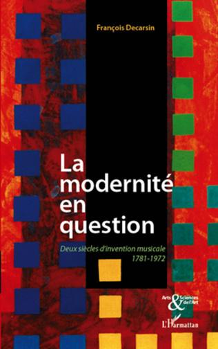 Couverture La modernité en question
