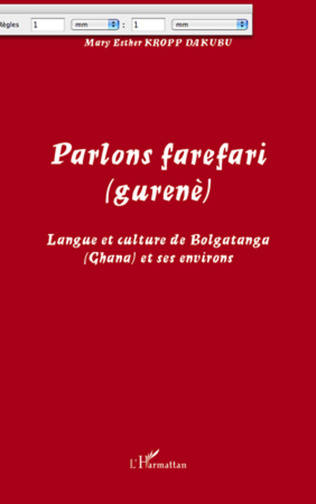 Couverture Parlons farefari (gurenè)