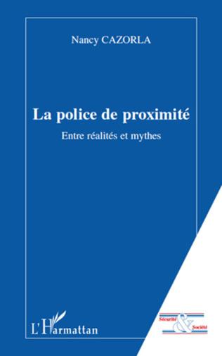 Couverture La police de proximité