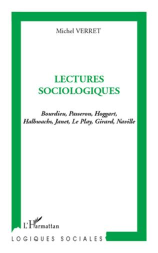 Couverture Lectures sociologiques