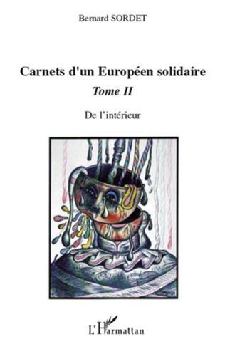 Couverture Carnets d'un européen solidaire Tome 2