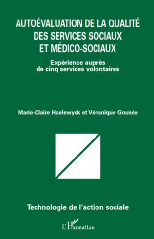 Couverture Autoévaluation de la qualité des services sociaux et médico-sociaux
